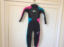 Child's wetsuit age 5/6 years
