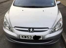 Peugeot 307, 2004 (53) Silver Hatchback, Manual Diesel, 84,986 miles