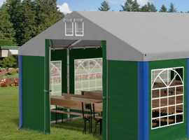 The New Marquee Garden Tent Party PVC Heavy Duty Waterproof 8x8m