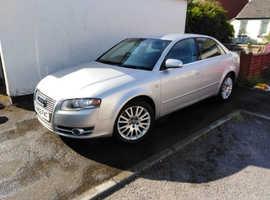 Audi A4, 2006 (56) Silver Saloon, Cvt Diesel, 158,000 miles