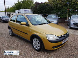 Vauxhall Corsa SXI 1.2 Litre 3 Door Hatch, 1 Owner From New, Full History, New MOT, Cheap Insurance.