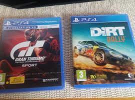 Gran Turismo Sport & Dirt Rally PS4
