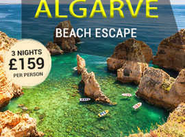 Escape with Savings - Algarve Beach Escapes at just £159pp