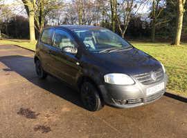 Volkswagen Fox, 2008 (08) Black Hatchback, Manual Petrol, 75,000 miles