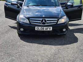 Mercedes C CLASS, 2008 (08) Black Saloon, Manual Diesel, 156,000 miles