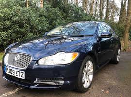 Jaguar Xf, 2009 (09) Blue Saloon, Automatic Diesel, 79,200 miles