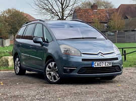 Citroen C4, 2007 (07) Grey Estate, Semi auto Diesel, 153,345 miles