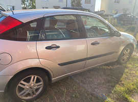 Ford Focus, 2004 (04) Silver Hatchback, Automatic Petrol, 117,000 miles