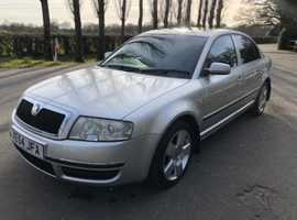 Skoda Superb, 2005 (54) Silver Saloon, Manual Diesel, 212,186 miles
