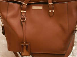 Carvela genuine medium sized tan handbag