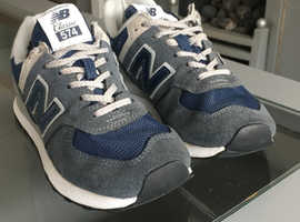 New balance trainers