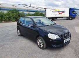 Volkswagen Polo, 2007 (07) Black Hatchback, Manual Diesel, 123,650 miles