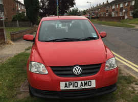 Volkswagen Fox, 2010 (10) Red Hatchback, Manual Petrol, 13,800 miles