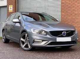2015 Volvo V60 Sportwagon 2.0 D3 150 R Design, Diesel, Metallic Grey, Stunning, Immaculate Vehicle