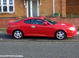 Hyundai Coupe, 2003 (53) Red Coupe, Manual Petrol, 70,871 miles