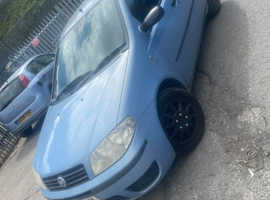 Fiat Punto, 2003 (03) Blue Hatchback, Manual Diesel, 106,000 miles