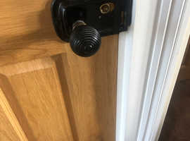 Oak engineered internal door