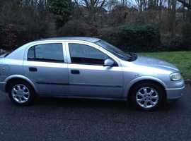VAUXHALL ASTRA 1.6 CLUB 2001 ALLOY WHEELS MOT DRIVES WELL CHEAP CAR