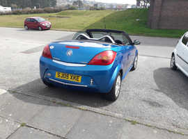 Vauxhall Tigra, 2005 (05) Blue Coupe, Manual 1.4 Petrol, 85,600 miles