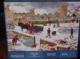 Brand New Snow Scene Jigsaw