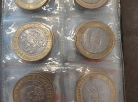 Collectable 2pound coins