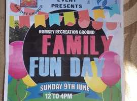Romsey Community event a family fun day