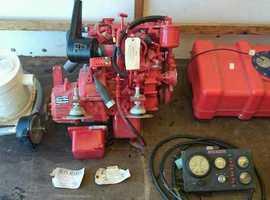 Beta marine 14hp inboard engine tmc 40 gearbox re engine kit