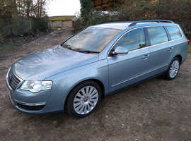 Volkswagen Passat, 2008 (58) Grey Estate, Manual Diesel, 190,000 miles
