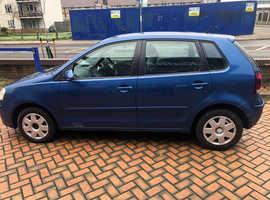 Volkswagen Polo, 2006 (06) Blue Hatchback, Manual Petrol, 130,000 miles