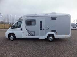 Swift Bolero 630 end washroom with full shower.(2012)