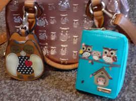 cute owl design bag