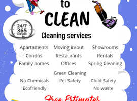 Cleaning services - REGULAR DOMESTIC - ONE - OFF DEEP CLEANING