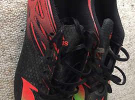 Adidas Unisex F5 Boots Size 7