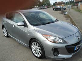 Mazda MAZDA 3, 2012 (62) Silver Hatchback, Manual Diesel, 47,000 miles