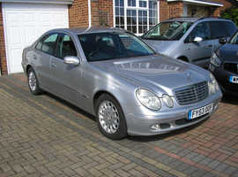 (03-04) MERCEDES E270 CDI ELEGANCE AUTO MET/SILVER (SALOON ABSOLUTELY IMMACULATE CONDITION)