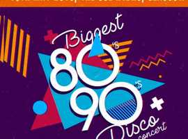 Biggest 80s-90s Disco tickets for sale