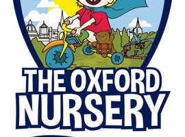 Deputy Manager The Oxford Nursery Eynsham