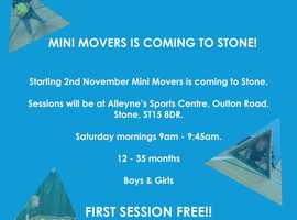 Toddlers Multi Sports Sessions-Mini Movers