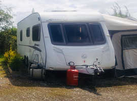 SWIFT ARCHWAY CALDECOTT 2008. Stunning 23ft, 4 berth, twin axle touring caravan