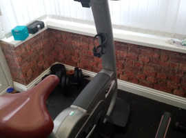 TECHNOGYM EXCITE UPRIGHT COMMERCIAL EXERCISE BIKE