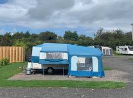 2006 Pennine Fiesta Folding Camper, awning, free extras, ready to use now