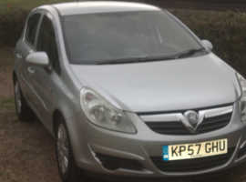 Vauxhall Corsa, 2007 (57) Silver Hatchback, Manual Petrol, 102,502 miles