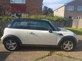 Mini MINI, 2008 (57) white hatchback, Automatic Petrol, 83,500 miles