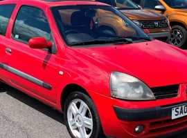 Renault Clio, 2005 (05) Red Hatchback, Manual Petrol, 93,097 miles