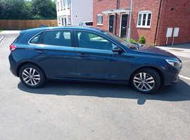 Hyundai i30 SE-NAV T-GDI 1.O 120psi, 2018 Blue, Manual Petrol, 23.5k miles