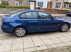 BMW 3 Series, 2006 (56) Blue Saloon, Manual Petrol, 133,912 miles