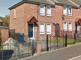 Newcastle 2 Bedroom House with Driveway & Gardens.