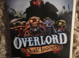 Wii game Overlord dark legend