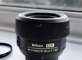 Nikon DX Nikkor AF-S 35mm 1:1.8G Lens