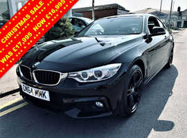 BMW 4 Series, 2015 (64) Black Coupe, Automatic Diesel, 60,397 miles